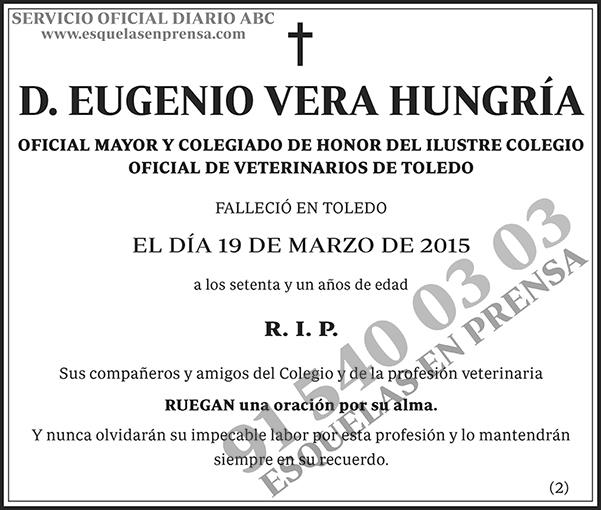Eugenio Vera Hungría